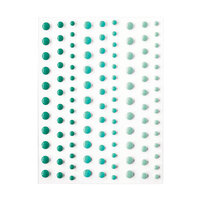 Hero Arts - Hero Hues - Self Adhesive Enamel Dots - Aquas