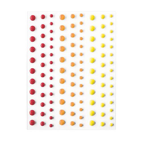 Hero Arts - Hero Hues - Self Adhesive Enamel Dots - Sunset