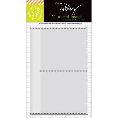 Hero Arts - Kelly Purkey Collection - Wallet - 3 x 4 Pocket Inserts