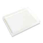 Hero Arts - Clear Design - Clear Acrylic Stamping Block - 4 x 4.5 Inch