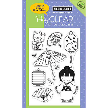 Hero Arts - Poly Clear - Clear Acrylic Stamps - Good Fortune