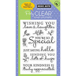 Hero Arts - Poly Clear - Clear Acrylic Stamps - Truly Appreciated