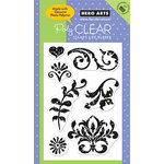 Hero Arts - Poly Clear - Clear Acrylic Stamps - Speckled Ornaments