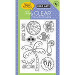 Hero Arts - Poly Clear - Clear Acrylic Stamps - Let's Chill, CLEARANCE