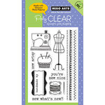 Hero Arts - Poly Clear - Clear Acrylic Stamps - Sew Artsy
