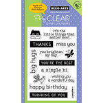 Hero Arts - Poly Clear - Clear Acrylic Stamps - Big Hugs