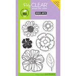 Hero Arts - Poly Clear - Clear Acrylic Stamps - Blossom Art