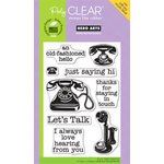 Hero Arts - Poly Clear - Clear Acrylic Stamps - Just Saying Hi