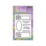 Hero Arts - Poly Clear - Clear Acrylic Stamps - Speedy Recovery