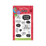 Hero Arts - Poly Clear - Christmas - Clear Acrylic Stamps - Holiday Conversation