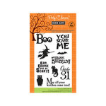 Hero Arts - Poly Clear - Halloween - Clear Acrylic Stamps - You Scare Me