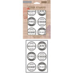 Hero Arts - BasicGrey - Aspen Frost Collection - Poly Clear - Clear Acrylic Stamps - Believe