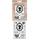 Hero Arts - BasicGrey - Poly Clear - Clear Acrylic Stamps - True Love