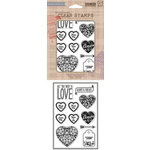 Hero Arts - BasicGrey - Poly Clear - Clear Acrylic Stamps - Amore