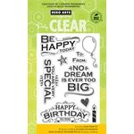 Hero Arts - Poly Clear - Clear Acrylic Stamps - Be Happy Today