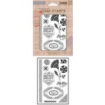 Hero Arts - BasicGrey - Spice Market Collection - Clear Acrylic Stamps - Best Time Ever
