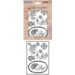 Hero Arts - BasicGrey - Spice Market Collection - Clear Acrylic Stamps - Lovely