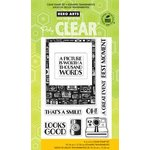 Hero Arts - Poly Clear - Clear Acrylic Stamps - Looks Good