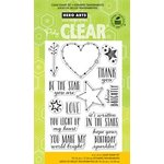 Hero Arts - Poly Clear - Clear Acrylic Stamps - Written in the Stars