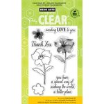 Hero Arts - Poly Clear - Clear Acrylic Stamps - Making the World a Better Place