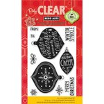 Hero Arts - Poly Clear - Christmas - Clear Acrylic Stamps - Winter Sparkle