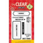 Hero Arts - Poly Clear - Christmas - Clear Acrylic Stamps - Season's Sweetings