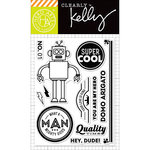 Hero Arts - Kelly Purkey Collection - Clear Acrylic Stamps - Super Cool