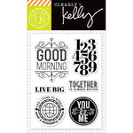 Hero Arts - Kelly Purkey Collection - Clear Acrylic Stamps - Live Big