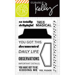 Hero Arts - Kelly Purkey Collection - Clear Acrylic Stamps - Daily Life