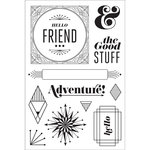 Hero Arts - BasicGrey - Clear Acrylic Stamps - The Good Stuff