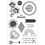 Hero Arts - BasicGrey - Clear Acrylic Stamps - Sweet You
