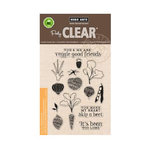 Hero Arts - Poly Clear - Clear Acrylic Stamps - Stamp Your Own Salad