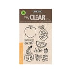 Hero Arts - Poly Clear - Clear Acrylic Stamps - Stamp Your Own Fruit