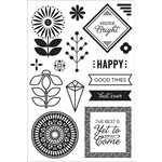 Hero Arts - BasicGrey - Prism Collection - Clear Photopolymer Stamps - Shine Bright