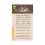 Hero Arts - Poly Clear - Clear Photopolymer Stamps - Tabs