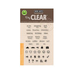 Hero Arts - Poly Clear - Clear Acrylic Stamps - To Do List