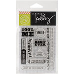 Hero Arts - Kelly Purkey Collection - Clear Photopolymer Stamps - 100 Percent Me