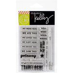 Hero Arts - Kelly Purkey Collection - Clear Acrylic Stamps - New Adventures