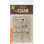 Hero Arts - Baby Collection - Clear Acrylic Stamps - Baby Animals