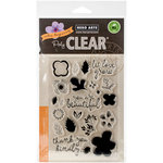Hero Arts - Clear Acrylic Stamps - Color Layering Let Love Grow
