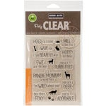 Hero Arts - Clear Acrylic Stamps - Animal Messages