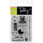 Hero Arts - Baby Collection - Clear Acrylic Stamps - Kelly's Oh Baby