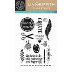Hero Arts - Lia Griffith Collection - Clear Acrylic Stamps - Create