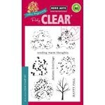 Hero Arts - Poly Clear - Christmas - Clear Photopolymer Stamps - Color Layering Fall Trees