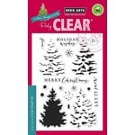 Hero Arts - Poly Clear - Christmas - Clear Acrylic Stamps - Color Layering Christmas Tree
