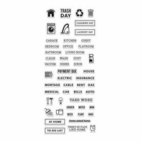 Hero Arts - Kelly Purkey Collection - Clear Photopolymer Stamps - Home Planner