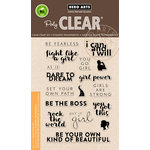 Hero Arts - Trend Collection - Clear Acrylic Stamps - Dare To Dream