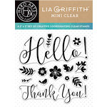Hero Arts - Lia Griffith Collection - Clear Acrylic Stamps - Spring Hello