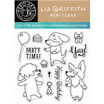 Hero Arts - Lia Griffith Collection - Clear Acrylic Stamps - Party Time