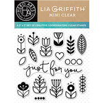 Hero Arts - Lia Griffith Collection - Clear Acrylic Stamps - Just for You